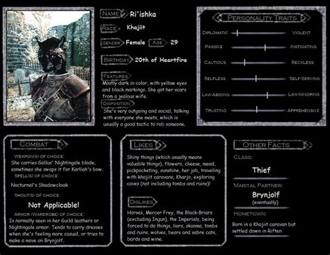 skyrim character templates skyrim character template ri ishka r i p by marquite