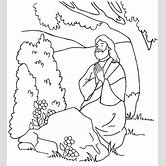 garden-of-gethsemane-coloring-page