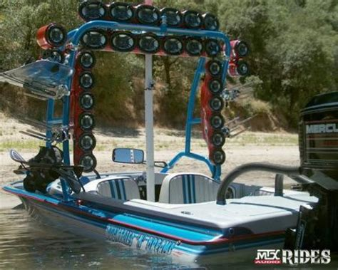 bass boat stereo ideas riding music theskimonster