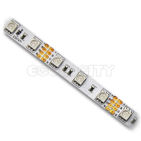 Rgb Led Lighting Strips Ul Listed Rgb Led Strips Of Light 118 Quot 3m