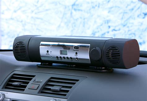 remote interior car heater sharper image