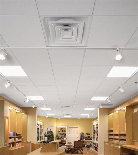 custom ceiling light panels for shops and stores