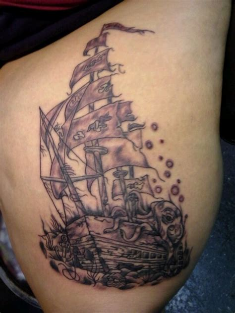 sunken ship tattoo designs 99 best images about tattoos on watercolors