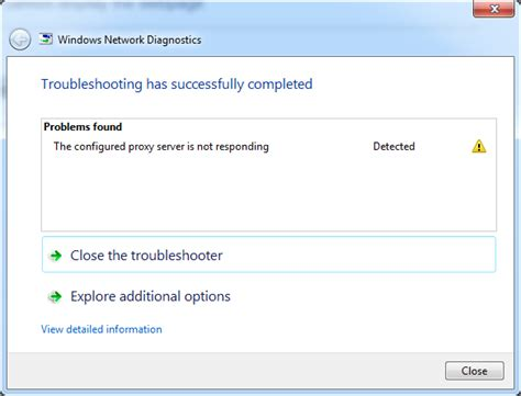 chrome not responding how to solve the configured proxy server is not
