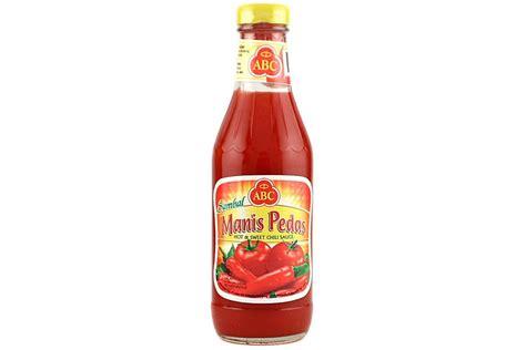 Sambal Cakalang Pedas sambal pedas chili sauce 11 5 fl oz by abc grocery gourmet