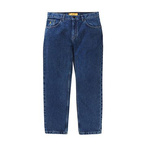 polar skate  jeans deep blue hlstorecom highlights