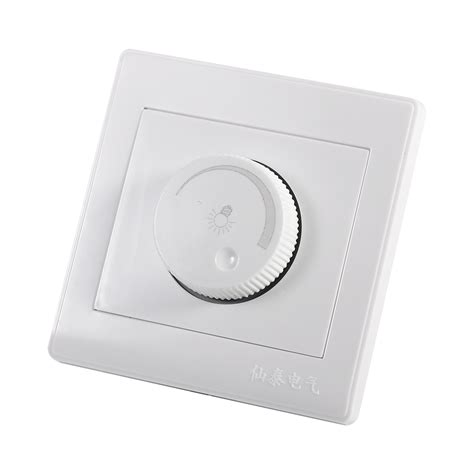 nursery l with dimmer 1 gang 1 way rotary wall dimmer control for ls led