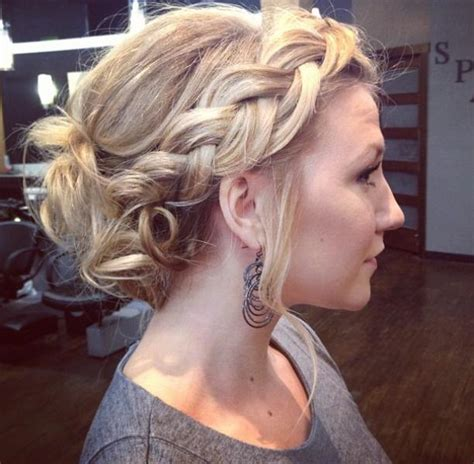 wedding hairstyles braids pinterest best 25 side braid wedding ideas on pinterest side