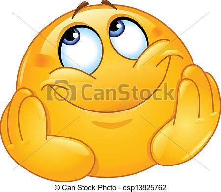 can stock photo clipart clip vektor tr 228 umerisch emoticon seine kopf