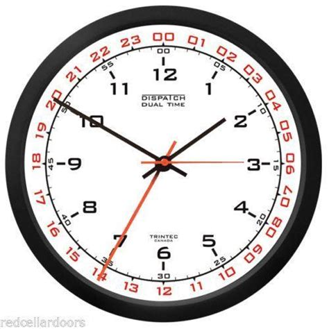 What Time Does Navy On - 24 hour clock ebay
