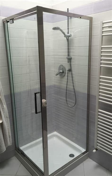 box doccia in acciaio inox box doccia su misura vetreria a rimini vetreria pari