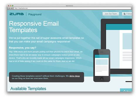 zurb email templates 8 free premium responsive email templates web