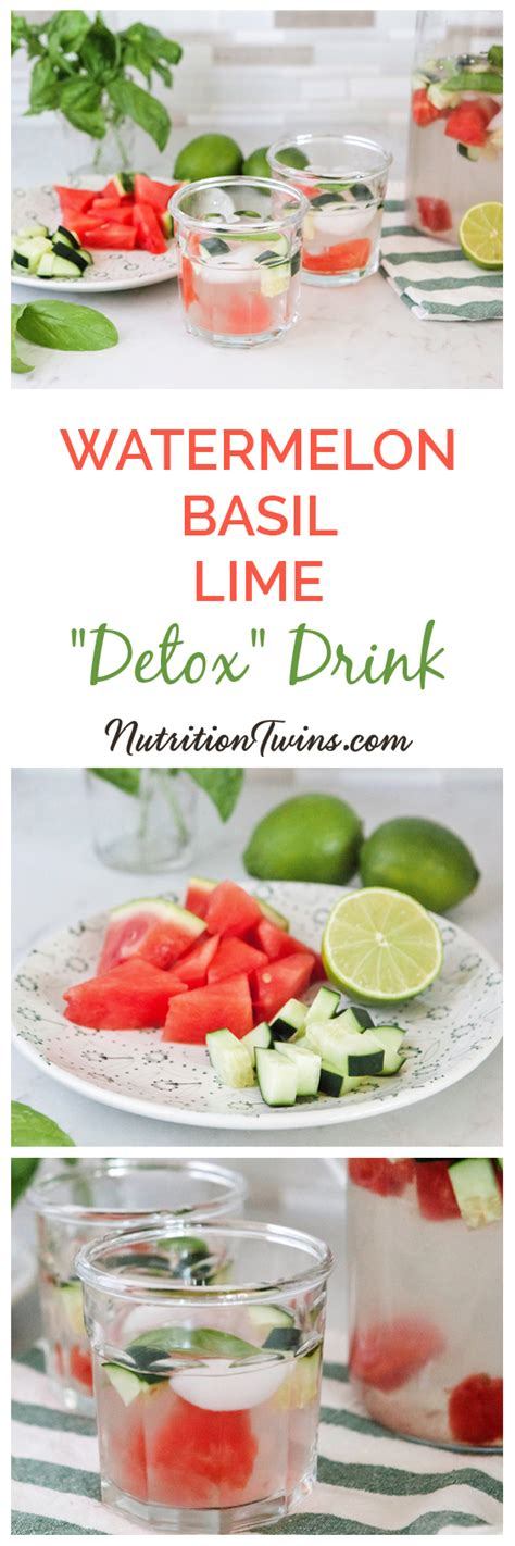 Watermelon Cucumber Detox Drink by Nutrition