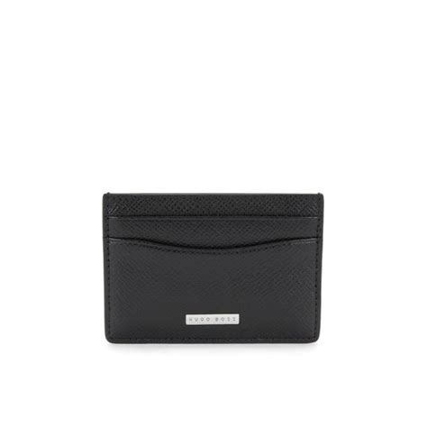 Hugo Signature hugo accessories signature s black card holder
