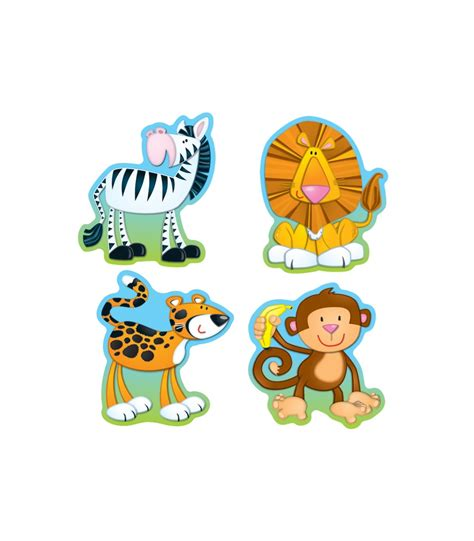 Animal Cutout Notebook S jungle animals cut outs grade pk 8 carson dellosa publishing