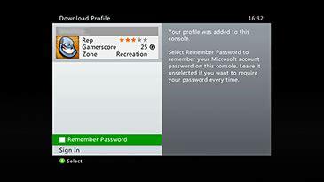 protéger votre profil xbox live par mot de passe