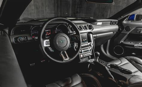 2015 ford mustang ecoboost interior car wallpaper