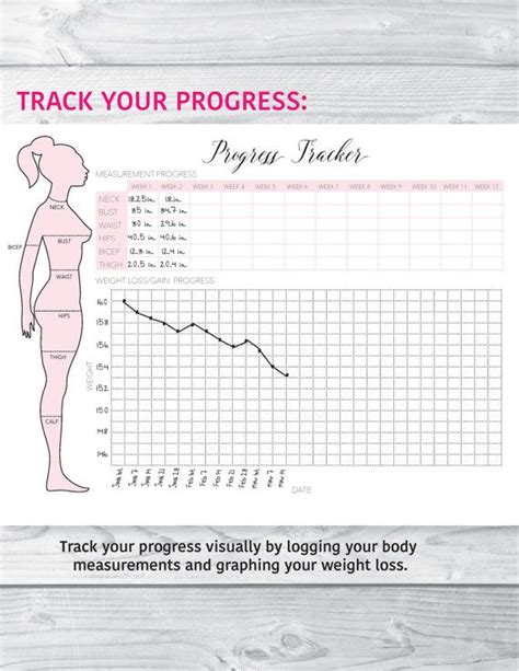 free printable health journal 187 best printable workout planners images on pinterest