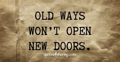 ways wont open  doors quotessharing