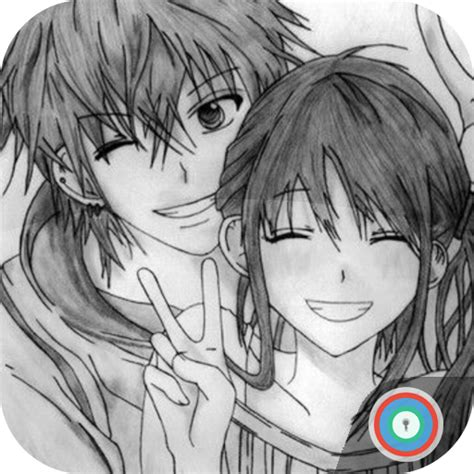 anime couple cute wallpapers android download in comics tag