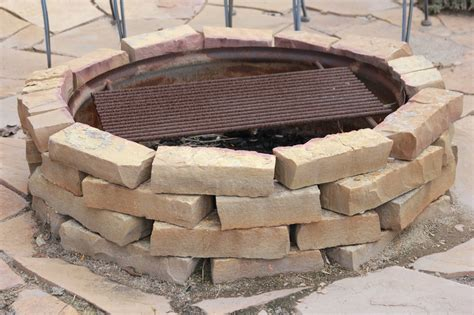 how many bricks for a pit time of our lives backyard firepit