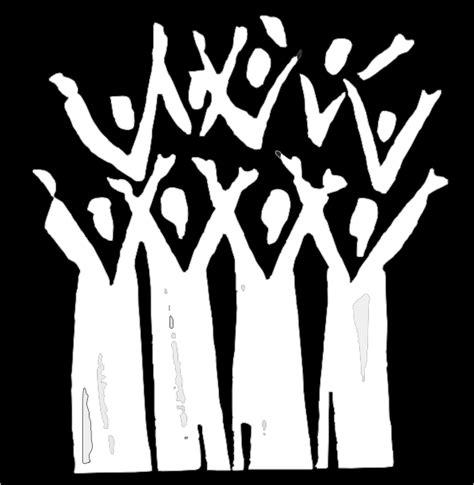 choir clipart choir in black and white clip at clker vector