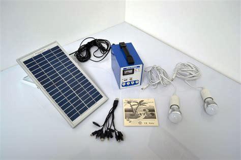 solar powered kits portable solar power cing kit solar power charger