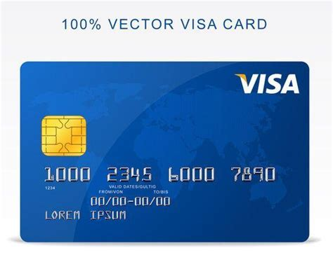 Blank Visa Credit Card Template 40 Free Credit Card Mockup Psd Templates Techclient