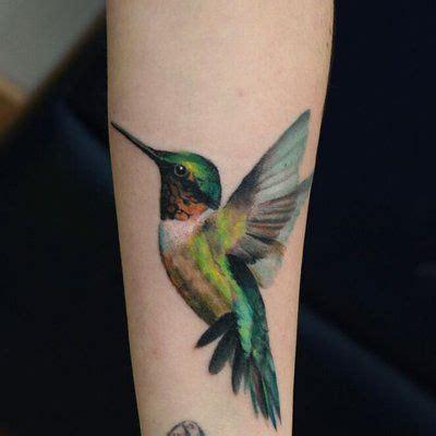 colibr 237 verde tatuajes para