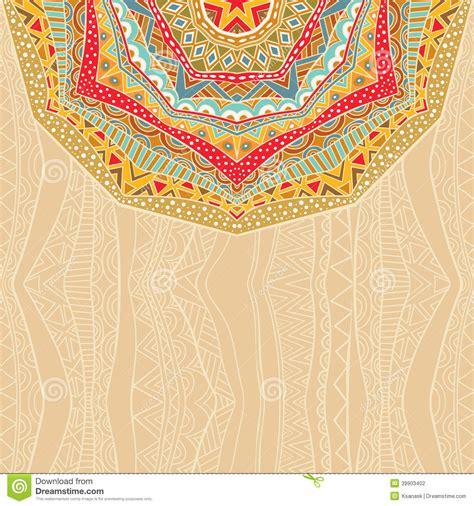 ethnic background bright ethnic background stock vector illustration of