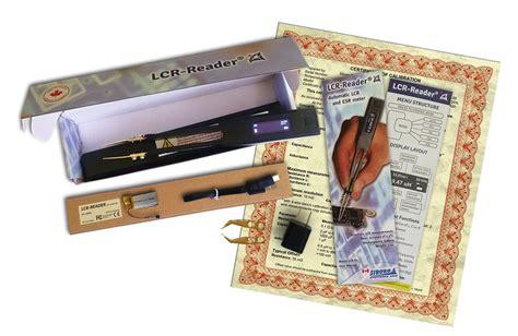 Smart Tweezer Multitester smart tweezers lcr and esr meter from siborg systems inc