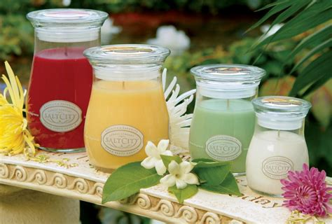 Salt City Candles by Salt City Candle Connection Scented Candles Co