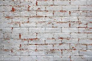 White Painted Brick Wall Texture Free High Resolution Photo #1 White