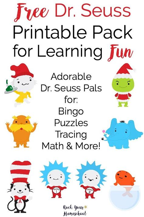 dr seuss 4 cmo 8448844645 free dr seuss printable pack for learning fun