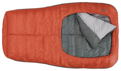 sierra designs backcountry bed two climbers one sleeping bag backcountry bed put to