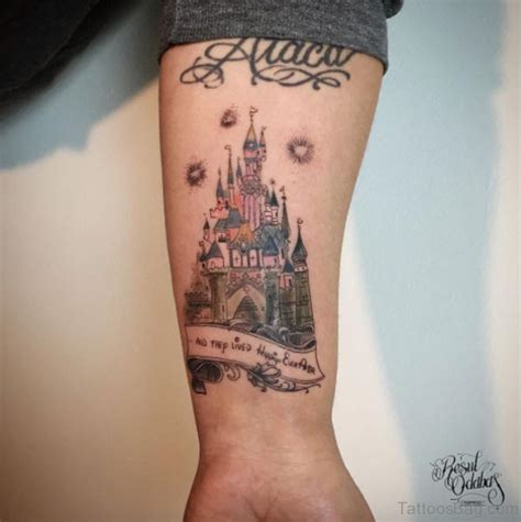 8 innovative castle wrist tattoos