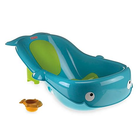 fisher price whale bathtub buy fisher price 174 precious planet whale of a tub newborn