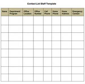 office contact list template contact list template 4 free word pdf documents customer contact list template word excel formats