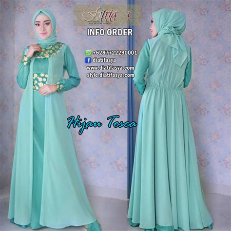 Gamis Hitam Lashira Ori By Balimo dress gaun pesta muslimah model raesha by fitria style brand