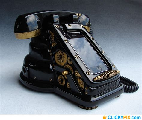 Cool Home Products steampunk iretrofone 688 cool product clicky pix