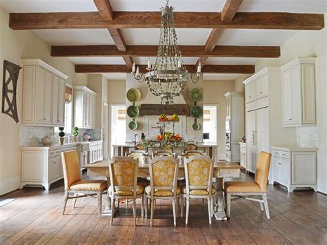 french country dining room  hgtv