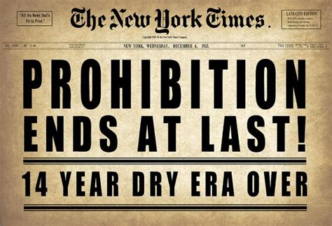 prohibition ends traces of the anti saloon league the birth of the modern