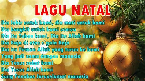 download mp3 lagu natal lagu natal sing chrismast dia lahir untuk kami youtube