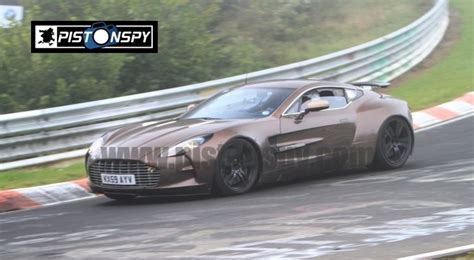Aston Martin One 77 Top Speed by Aston Martin One 77 Test Mule Spotted At Nurburgring News