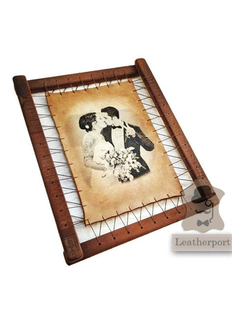 Wedding Anniversary Gift Leather by Leather Wedding Anniversary Gift Three Years Custom