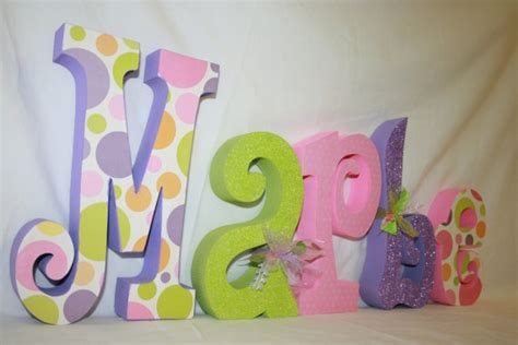 How To Decorate Wooden Letters For Nursery Diy Decorate Wooden Letters For Nursery Wall Letters