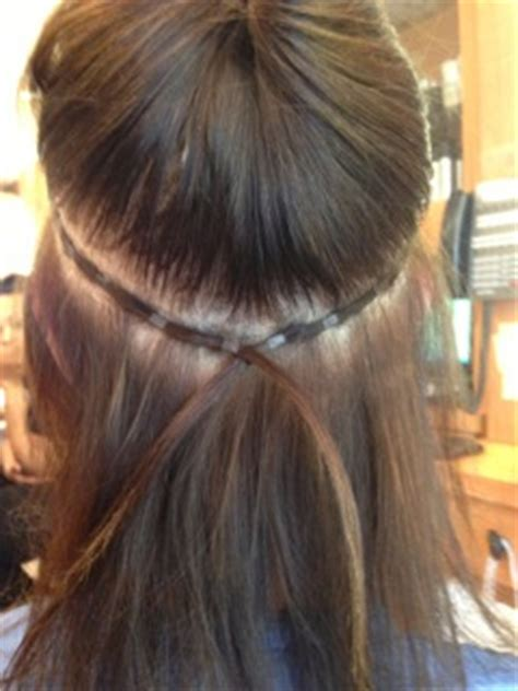 sewn in hair sewing clips into hair extensions hair human wavy