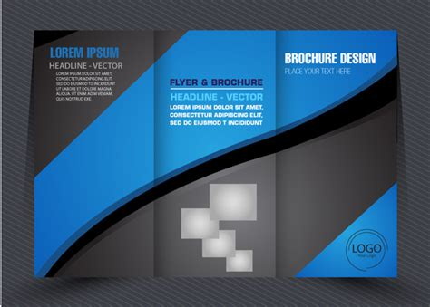 business brochure modern green free vector