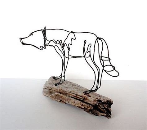 Wire Wolf Competition Wire 11 best images about wire sculpture on wolves sculpture and for