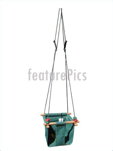 canvas swings house living baby s canvas swing stock picture i2308727